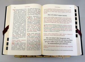 Missale Romanum 1962 – Noir