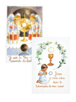 6 Images de première communion – Lot III