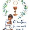 1er communion garçon