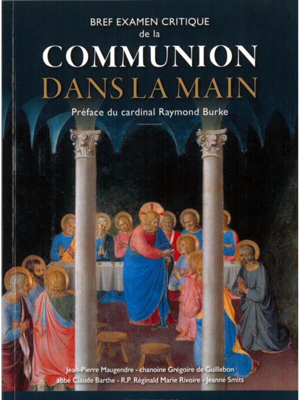 la communion dans la main